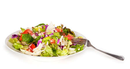 nonfat: Salad Ready to Eat Stock Photo