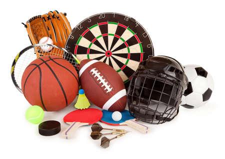 スポーツとゲームの配置