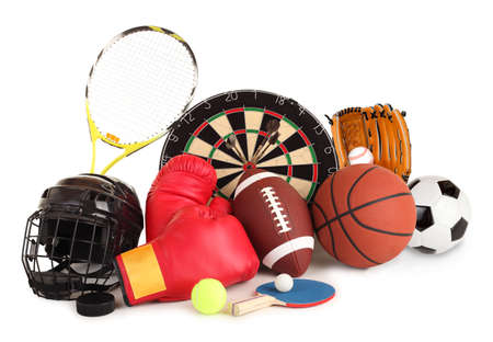 Sports and Games Arrangement Stock Photo - 6112025