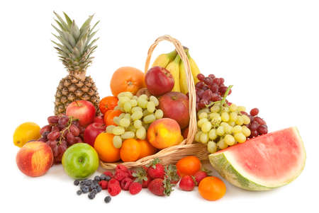 corbeille de fruits: Arrangement de fruits