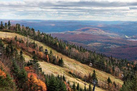 Fall Season at Mont-Tremblant , Quebec, Canada photo
