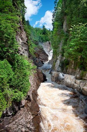 Canyon Ste-Anne, Quebec, Canada photo