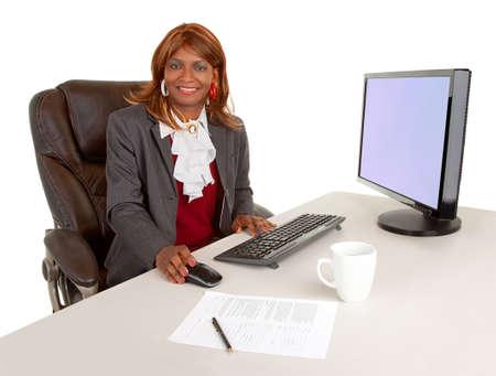 African American Businesswoman Stock Photo - 16720629