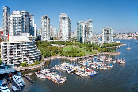 Living in Vancouver Stock Photo