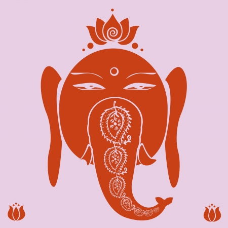 Ganesh holiday print