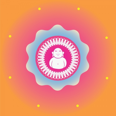 tantra: Color ornamental vector print  use for design and decoration and meditation-spring edition mandala