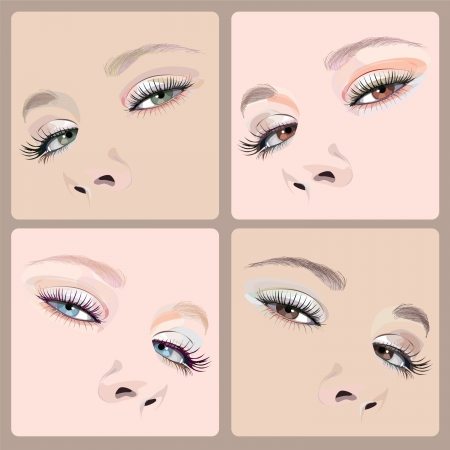 make-up illustration Illustration