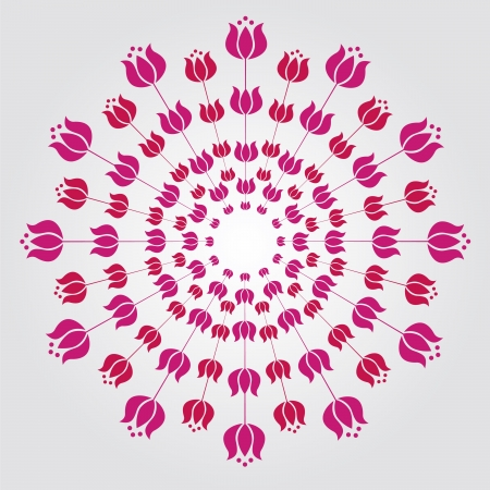 Floral detailed mandalas illustration Stock Vector - 18568618