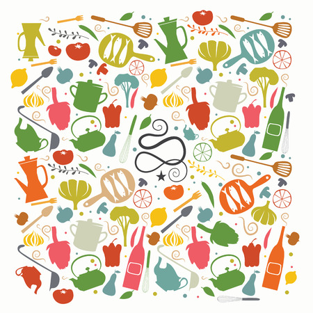 Cookbook cover Illustration