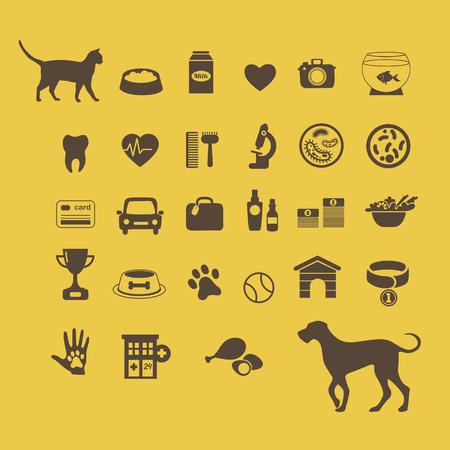 aquarian: Cat vs dog infographic elements