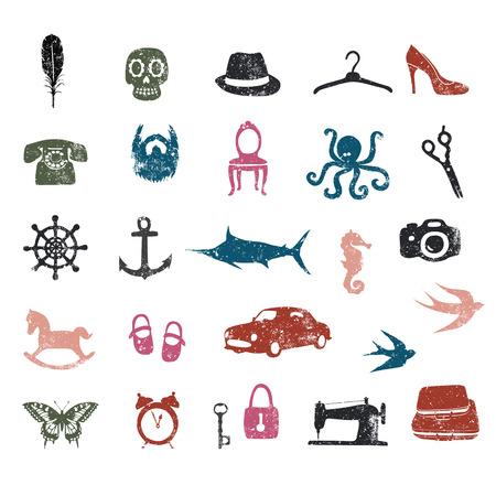 unique: Unique pictogramms
