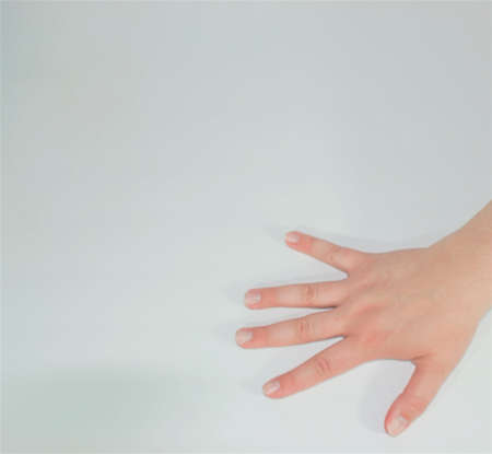 womans hand Banco de Imagens