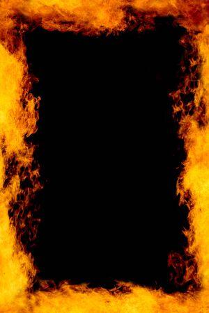 hell fire: Fire Frame