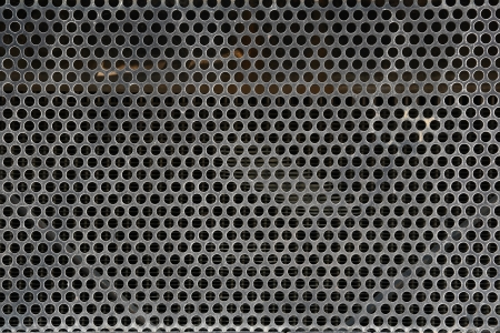 Old Metal Grid photo