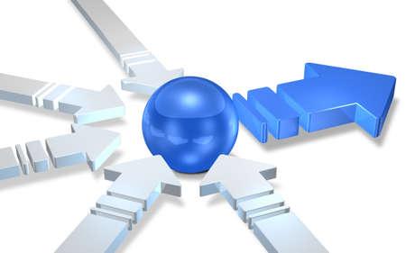 CG image representing the Logistics