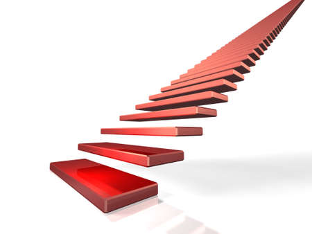 initiate: The everlasting staircase, symbolizes  first step