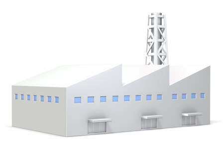 Miniature model of the plant
