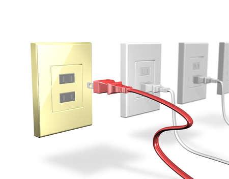 To save power, unplug the plug