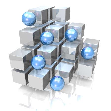 CG image representing the Display   Stock Photo