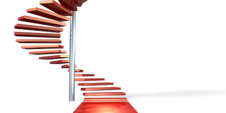 spiral staircase: Spiral staircase, represents the beginning of growth.