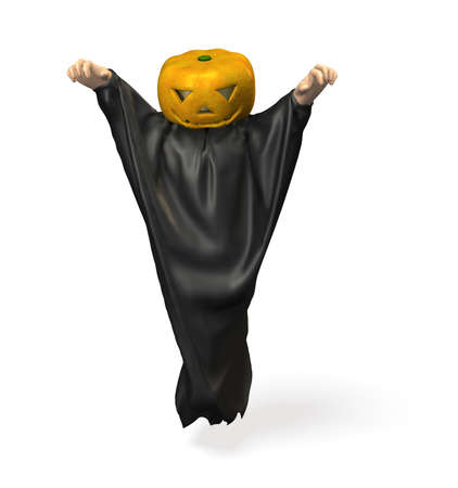 I am looking forward to scare in the disguise of Halloween Stock Photo - 14951264