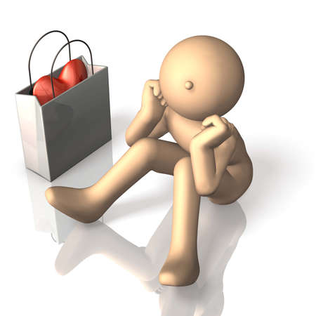 I think either give or do not give the gift. Stock Photo - 17677903