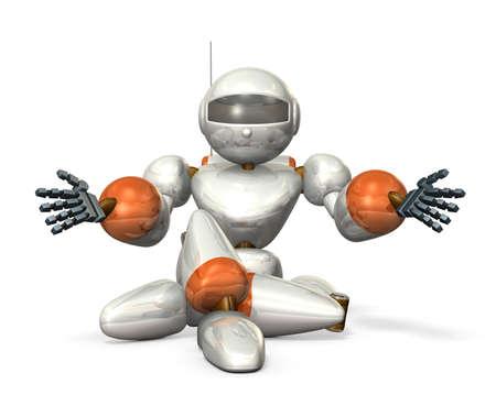 extend: Robot to extend the hand