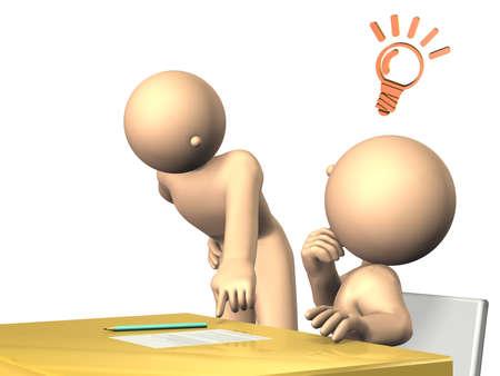 先生、students.isolated、コンピューター生成イメージへのアドバイス