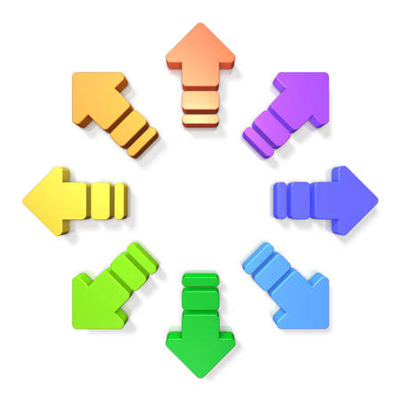 diffusion: Abstract 3D representing the diffusion Stock Photo