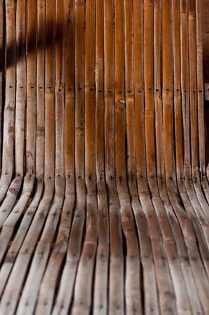 bamboo mat: Background of bamboo mat.