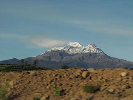 Iztaccihuatl view form the road