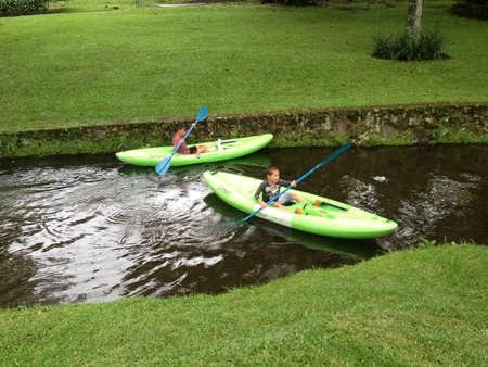 Riding Kayaks