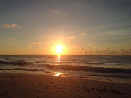 Sunrise in Tulum Stock fotó