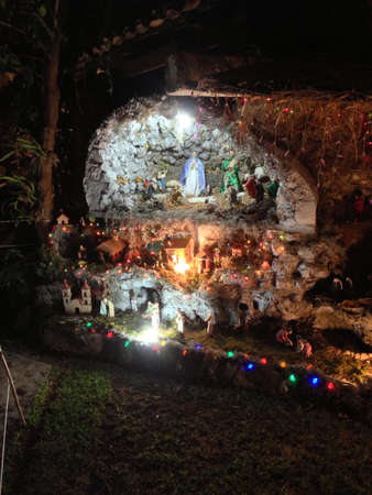 Mexican home Nativity tradition