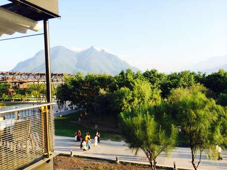 Cerro de la Silla View from Fundidora Park