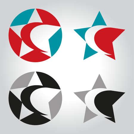 crescent: star crescent logo