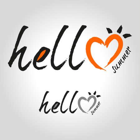 type: hello summer type