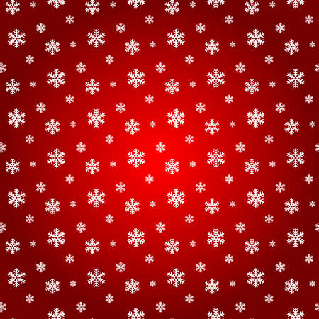 Snowflake seamless pattern background illustration.
