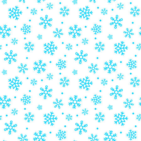 A snowflake background vector illustration. Illustration