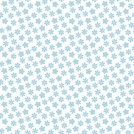 Snowflake background vector illustration.