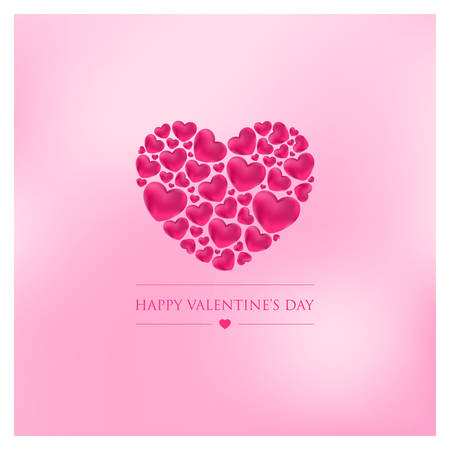 valentines day vector illustration with heart