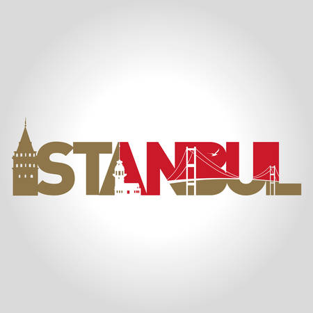 istanbul logo vector illustration