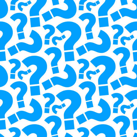 Question mark seamless pattern background.
