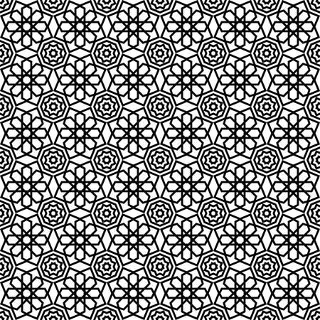 seamless islamic pattern vector illustration