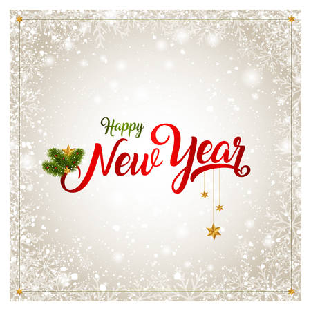 Happy new year greeting card vector illustration royalty free happy new year greeting card vector illustration stock vector 100968949 m4hsunfo