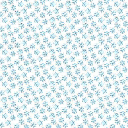 seamless snowflakes pattern vector illustration Illustration
