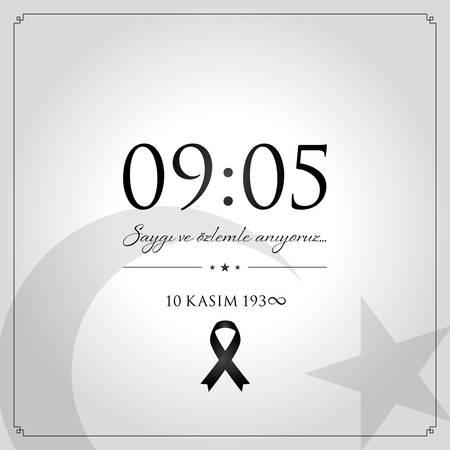 10 November, ATATURK Death Day anniversary.