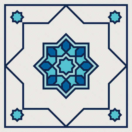islamic oriental, geometric motif. traditional islamic, arabic, persian and ottoman design vector illustration 向量圖像