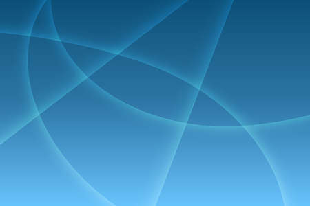 abstract blue wave gradient background with blurred light curved lines, vector illustration
