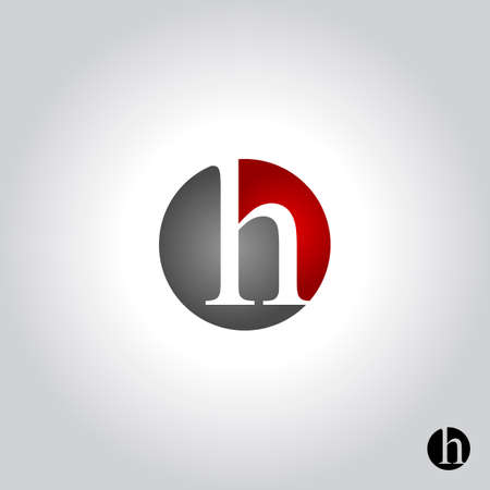 letter h logo, icon and symbol vector illustration